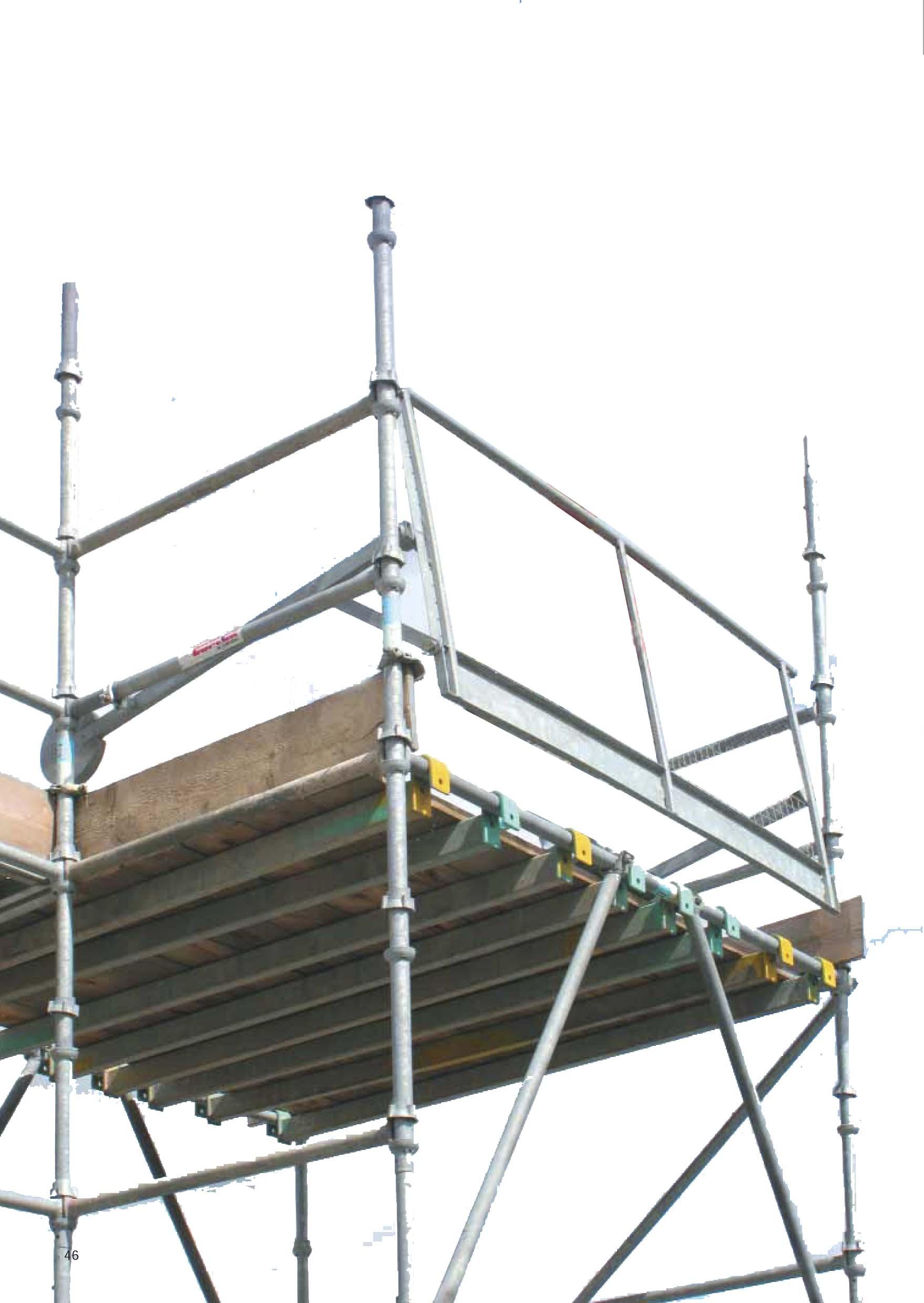 Modular scaffolding Cuplok