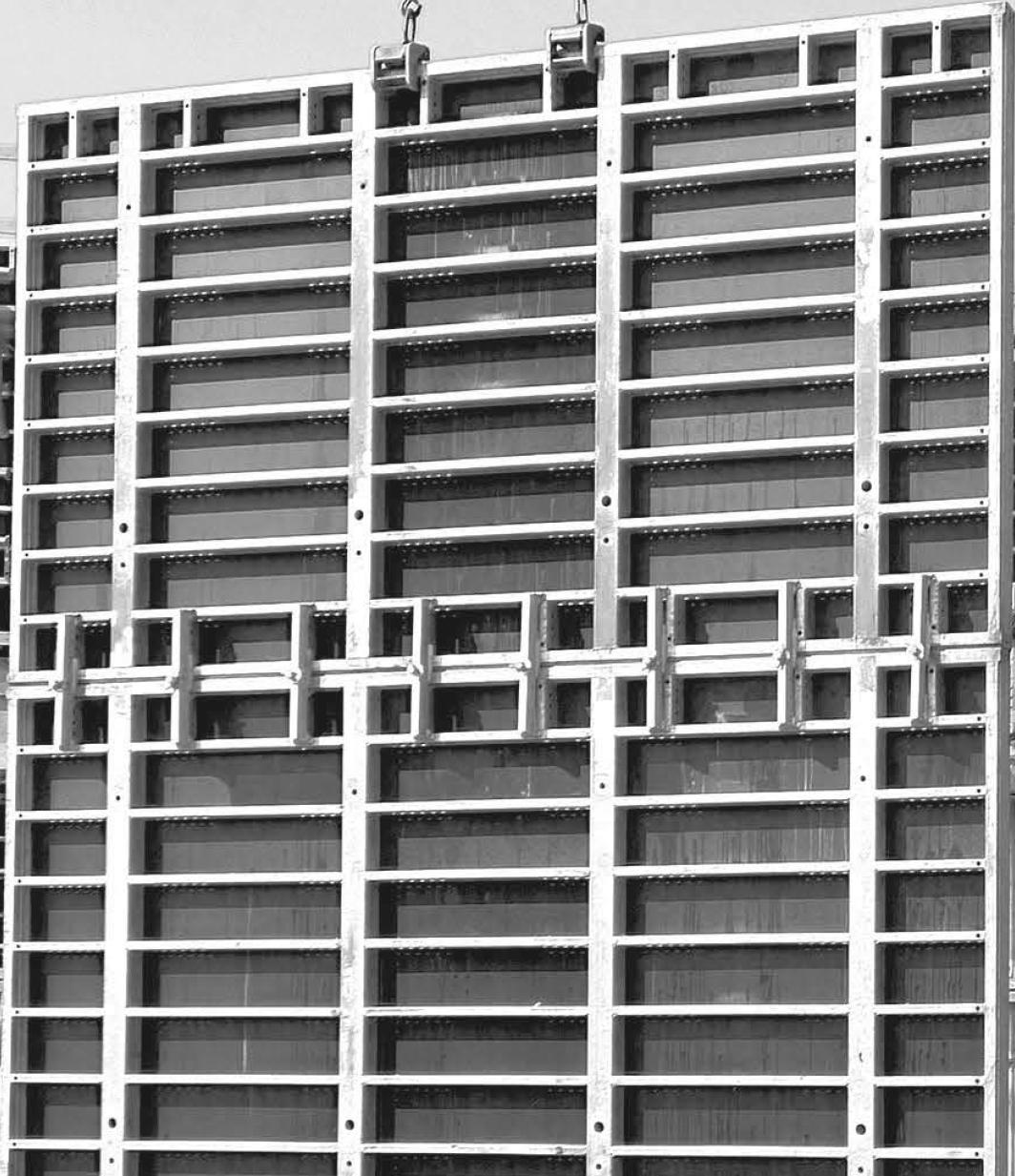 Стінова (вертикальна) опалубка Manto